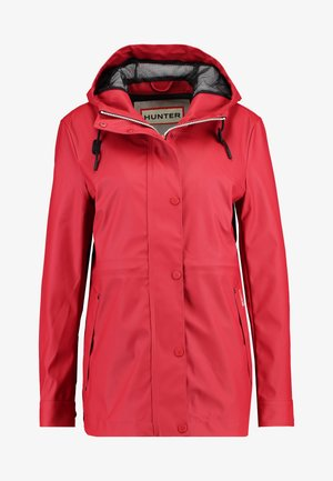 WOMENS ORIGINAL LIGHTWEIGHT RUBBERISED JACKET - Parkatakki - military red