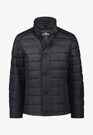 Winter jacket - dark-blue plain