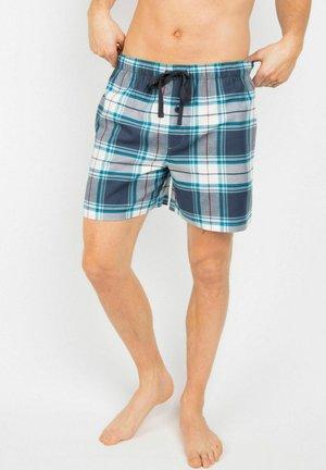 LEWIS - Pyjama bottoms - navy/blue checks