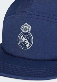 adidas Performance - REAL MADRID FIVE-PANEL CAP - Cap - blue - 4