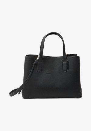 MIT FÄCHERN - Shopping bag - black