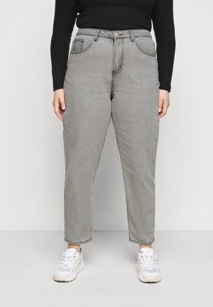 LADIES  - Relaxed fit jeans - bleached light grey