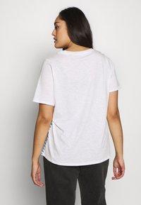 MY TRUE ME TOM TAILOR - Print T-shirt - whisper white/white - 2