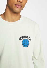 Mennace - TWISTED UNISEX  - Long sleeved top - light yellow - 4