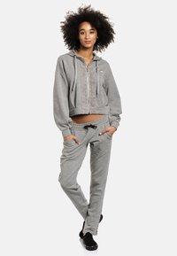 Vive Maria - Zip-up sweatshirt - grau meliert - 1
