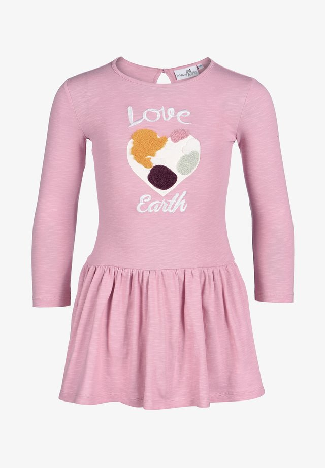 "ECO ""LOVE EARTH"" - Vestido informal - dusty rose"