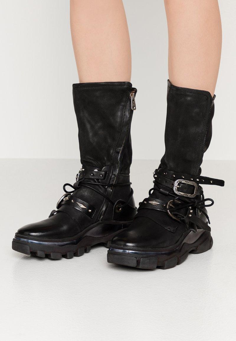 A.S.98 - Platform boots - nero