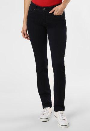 Slim fit jeans - schwarz blau