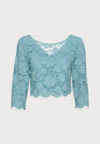LACE SHIRT - Print T-shirt - dark turquoise