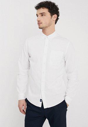 ALPHA ICON - Shirt - paper white