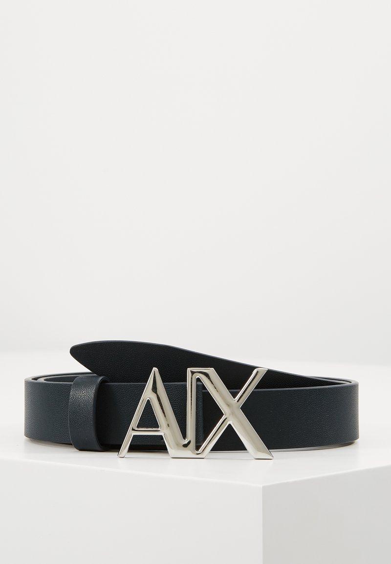 Armani Exchange - CINTURA - Belt - navy