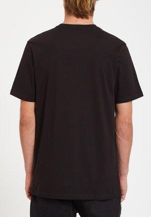 ICONIC STONE TEE - Jednoduché triko - black