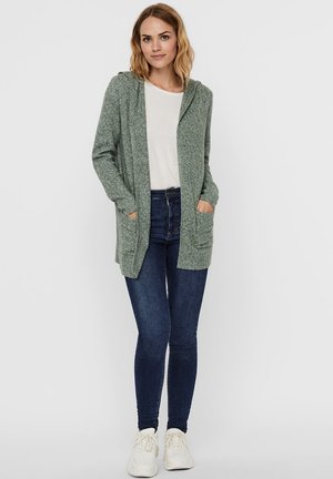 VMDOFFY OPEN - Cardigan - laurel wreath