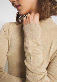 Monki - INGRID  - Sweter - beige medium dusty - 4