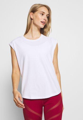 2 PACK - T-shirt basique - white/black