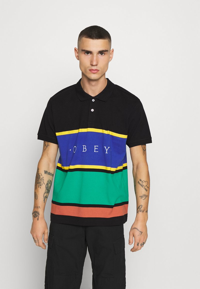 Obey Clothing - PLEDGE  - Polo - black/multi