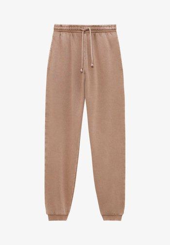 Pantaloni sportivi - brown