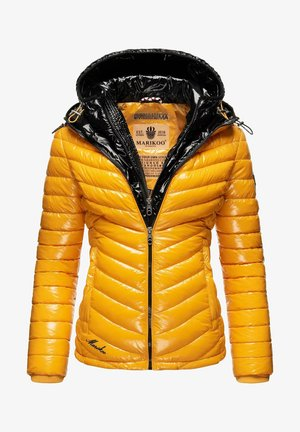 Winter jacket - yellow/black