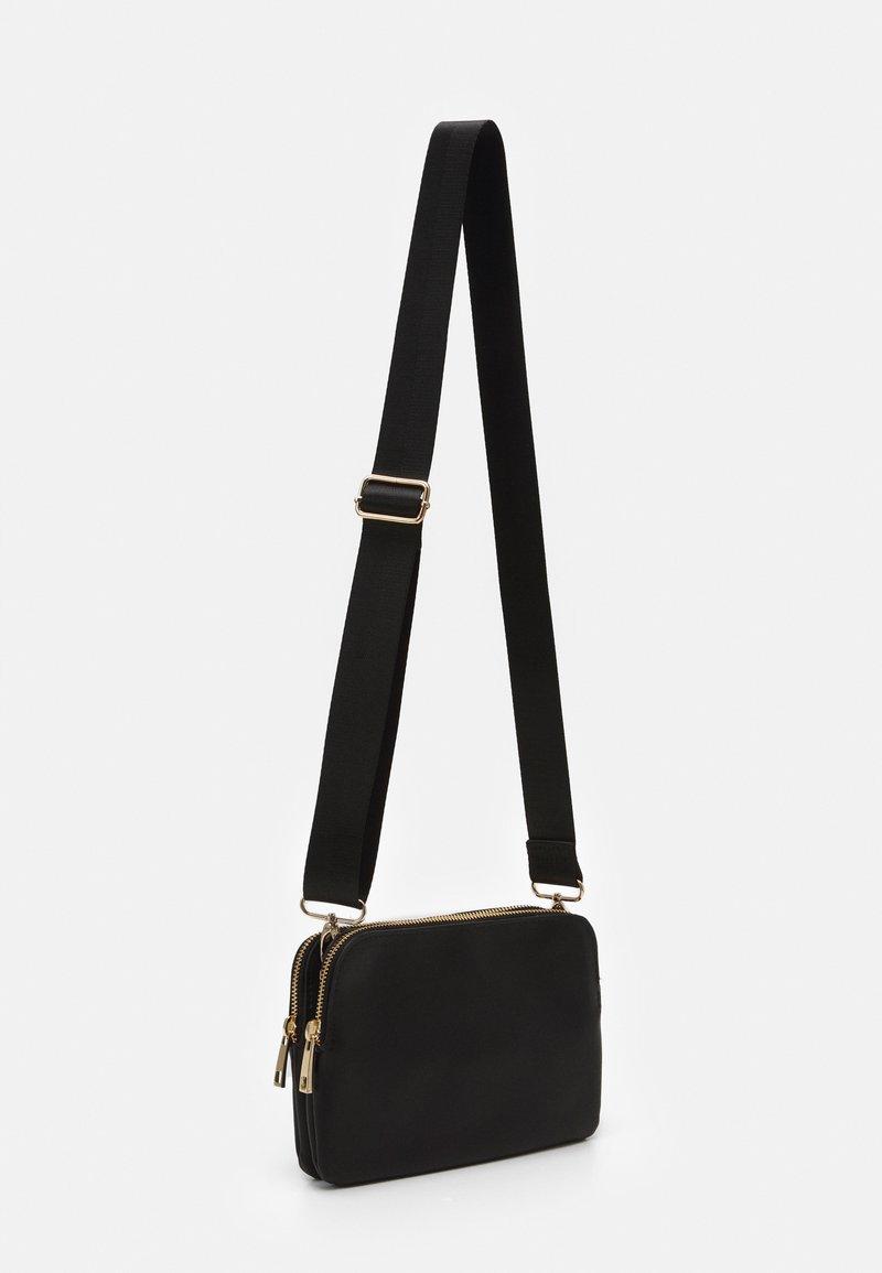 Lindex - TWO POCKET BAG - Skulderveske - black