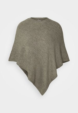 JDYELANOR PONCHO  - Cape - mermaid/melange