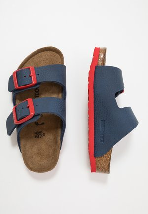 ARIZONA - Pantoffels - blue/red