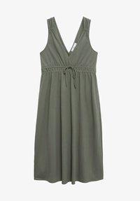 Mango - DOMENICO - Sukienka z dżerseju - kaki - 4