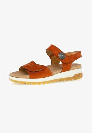 Platform sandals - terra