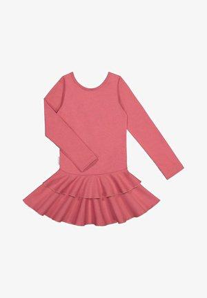 LONG SLEEVED DRESS FRILLA - Day dress - cherry bomb
