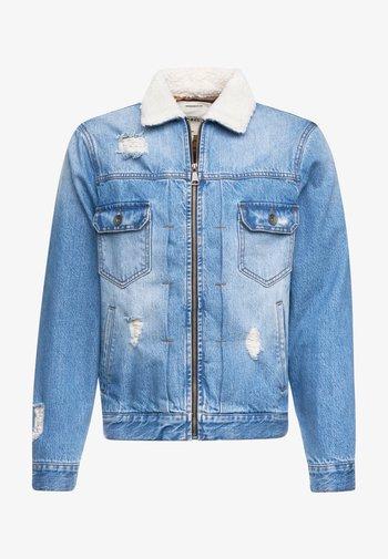 DENNIS JACKET - Giacca di jeans - light blue