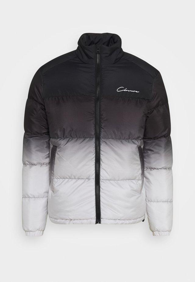 CONTRAST PANEL JACKET - Winter jacket - grey fade