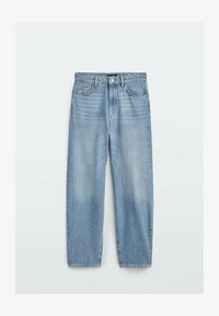 Massimo Dutti - Straight leg jeans - dark blue - 0
