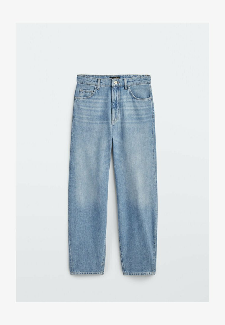 Massimo Dutti - Straight leg jeans - dark blue
