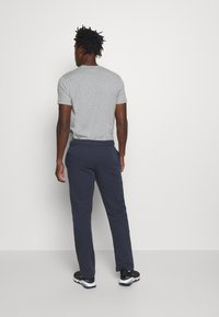 Champion - LEGACY STRAIGHT HEM PANTS - Spodnie treningowe - dark blue - 2