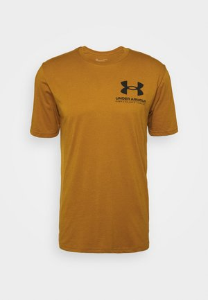 PERFORMANCE BIG LOGO - Camiseta de deporte - yellow ochre