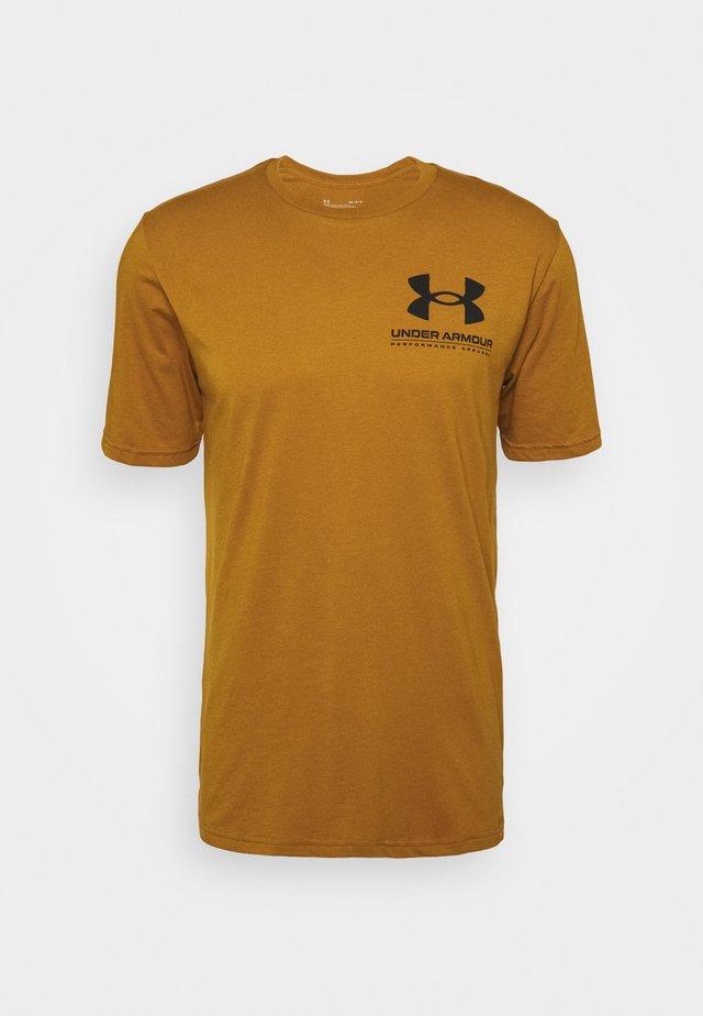 PERFORMANCE BIG LOGO - Funkční triko - yellow ochre