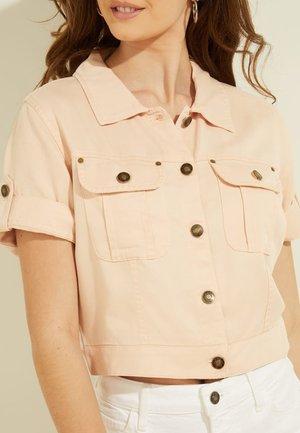REGULAR FIT - Denim jacket - hellrose