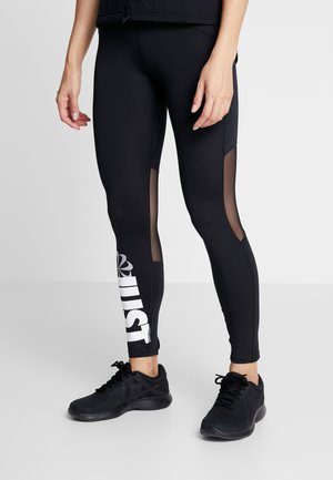 PEED - Legginsy - black/white