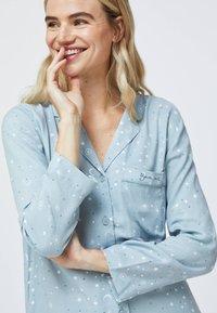 OYSHO - STAR SHIRT - Pyjama top - light blue - 3