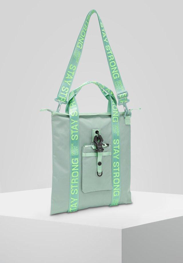 Handbag - mint neon green