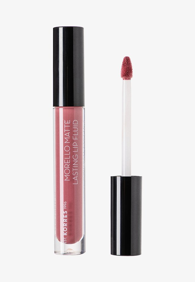 MORELLO MATTE LASTING LIP FLUID - Liquid lipstick - 10 damask rose