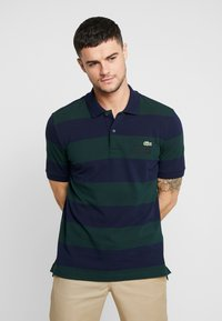 Lacoste LIVE - Polo - sinople/navy blue - 0