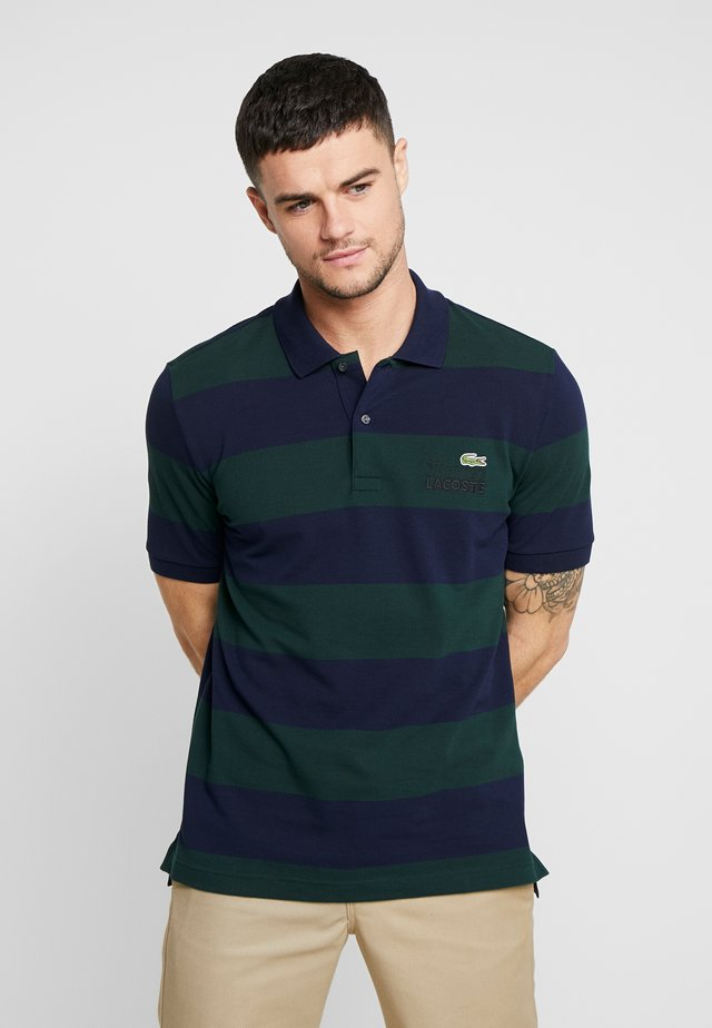 Polo - sinople/navy blue