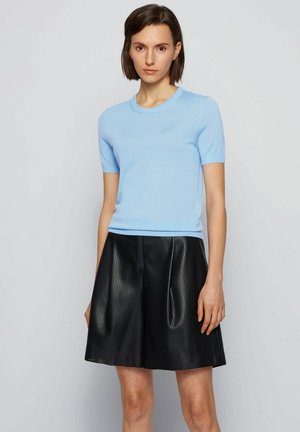 FALYSSA - Basic T-shirt - light blue
