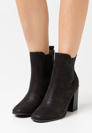 CHELSEAA - High heeled ankle boots - black