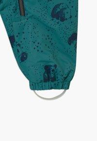 Color Kids - DOTS UNISEX - Snowsuit - dark green/dark blue - 5