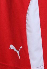 Puma - LIGA - Sports shorts - puma red/puma white - 2