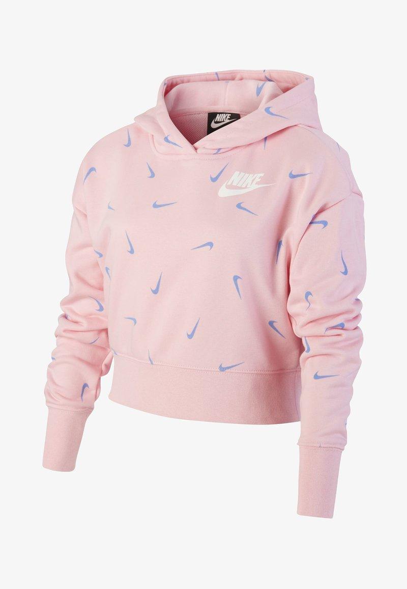 Nike Sportswear - Hoodie - pink/royal pulse/royal pulse