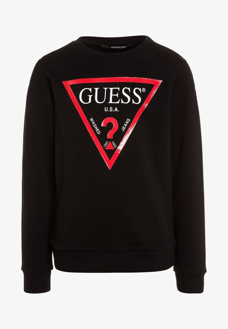 Guess - JUNIOR CORE - Sweater - jet black