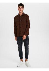 Gabba - TOPPER - Shirt - bronze brown - 1