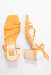 Dolce Vita - ZYDA - T-bar sandals - tangerine - 3